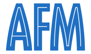 AFM transparent logo
